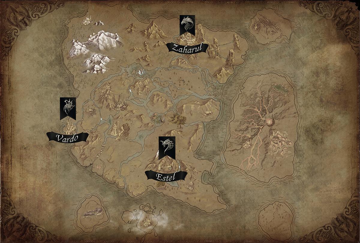 карта мира dnl