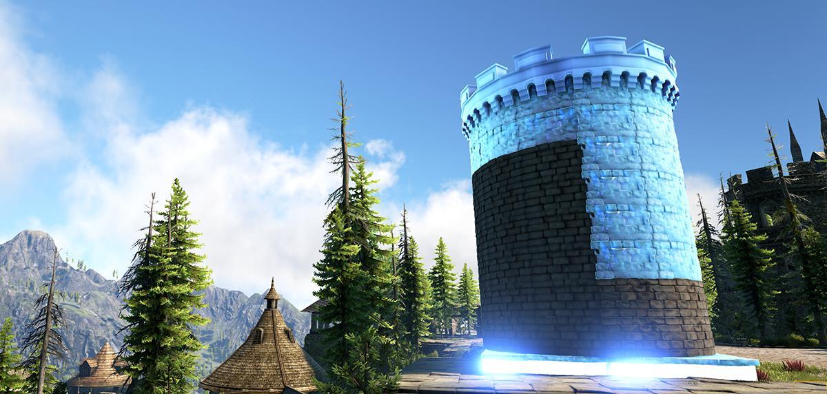 постройка крепости