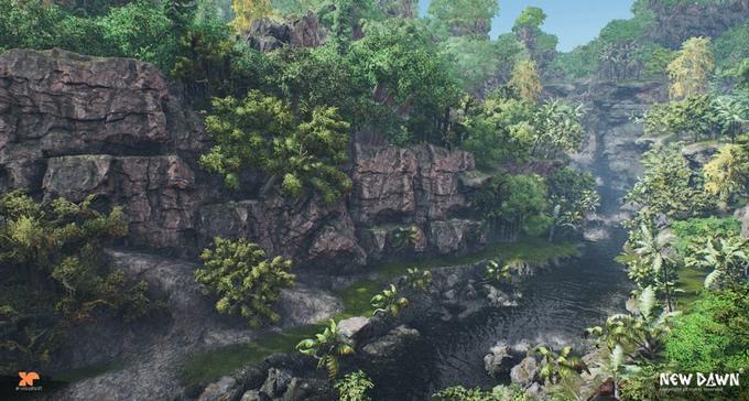 New Dawn скриншот леса