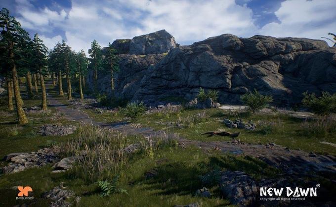 New Dawn скриншот полей