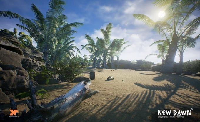 New Dawn скриншот моря