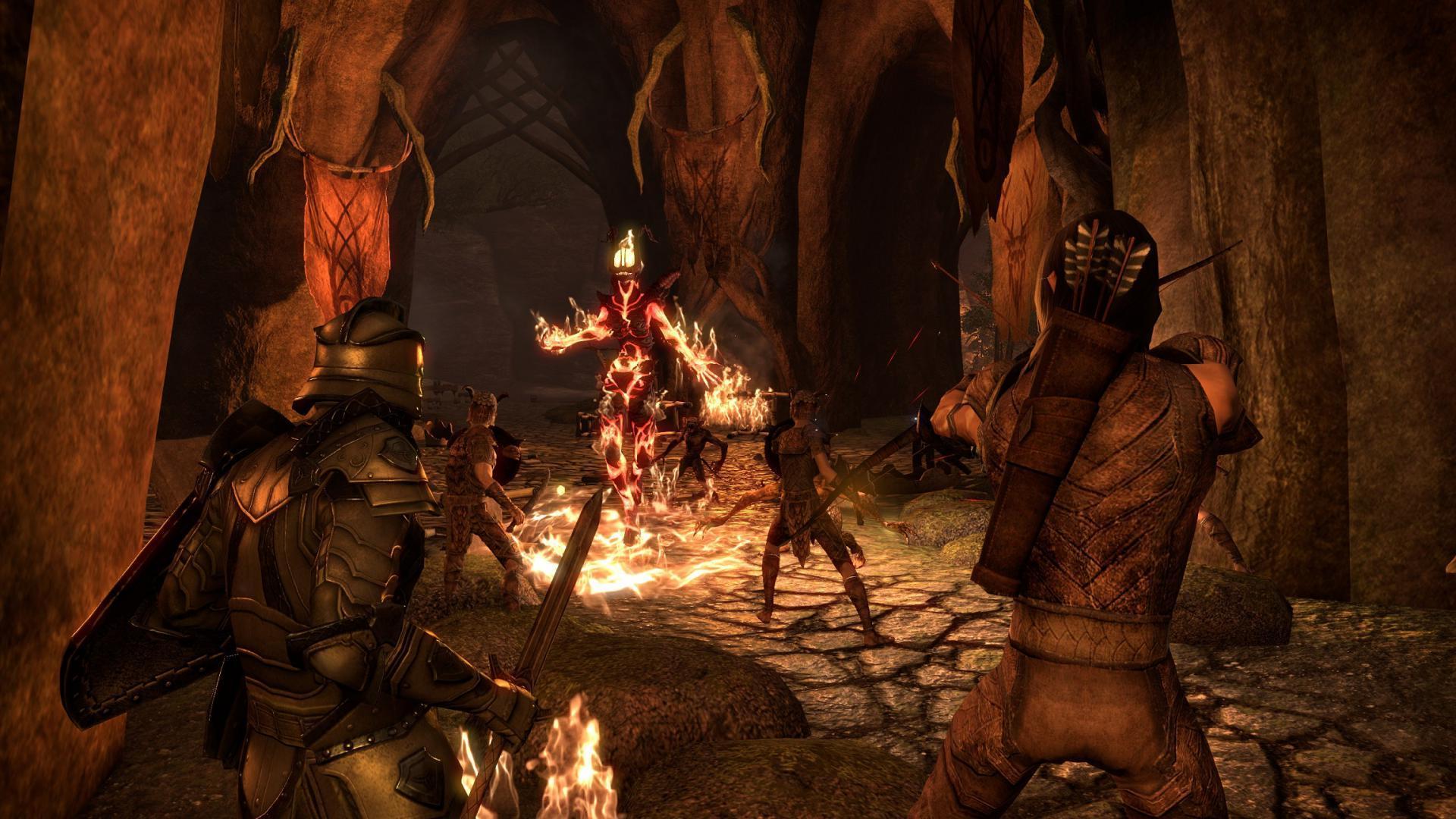 дополнение Dragon Bones The Elder Scrolls Online