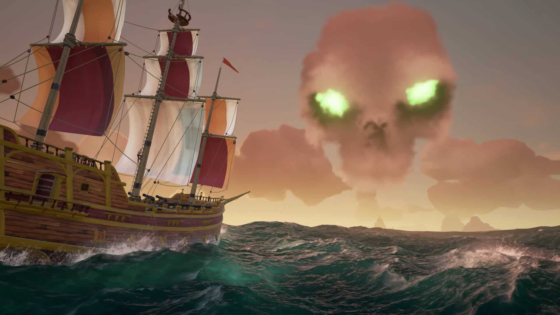sea of thieves аванпосты скелетов