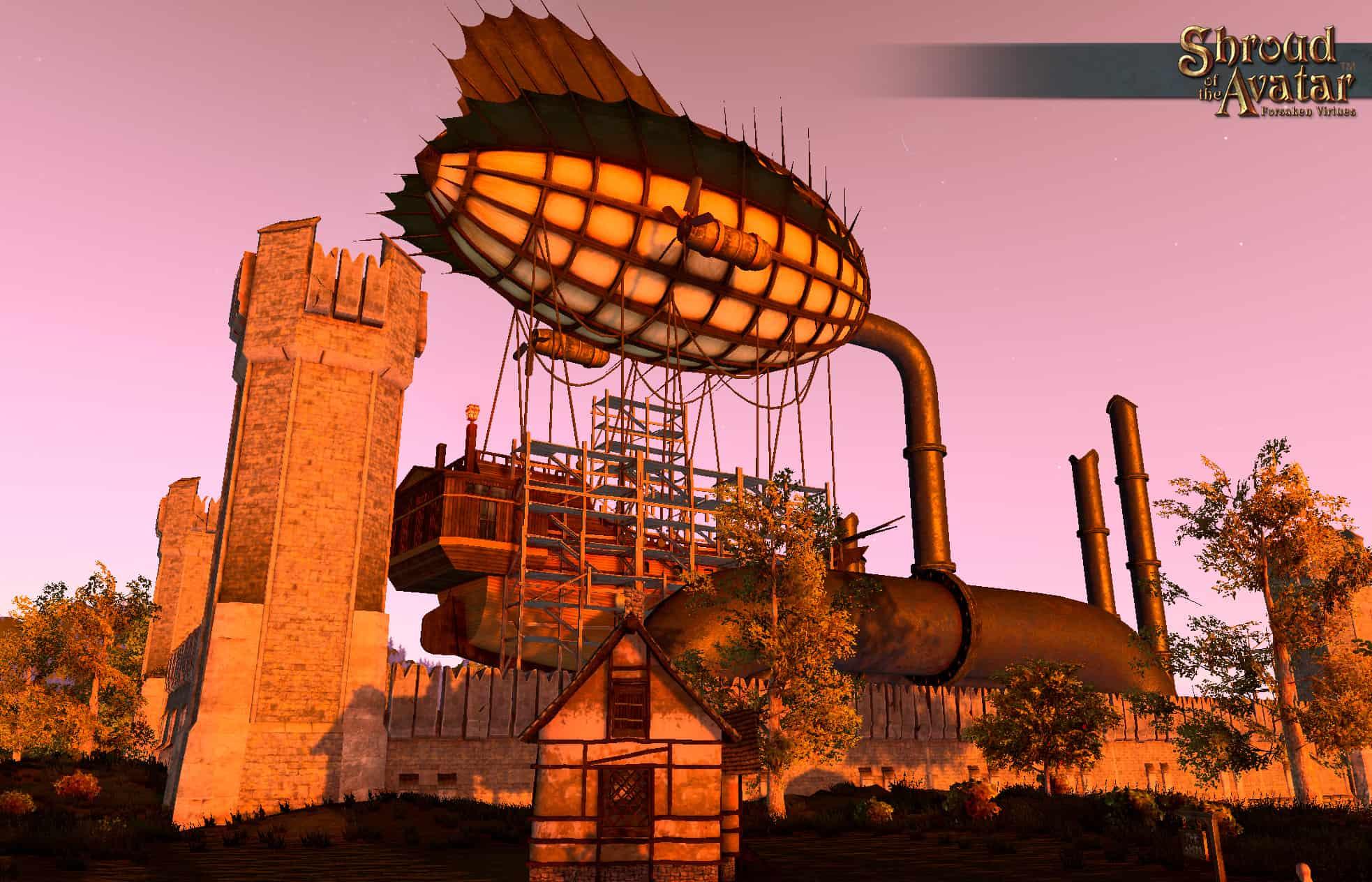новые города в Shroud of the Avatar