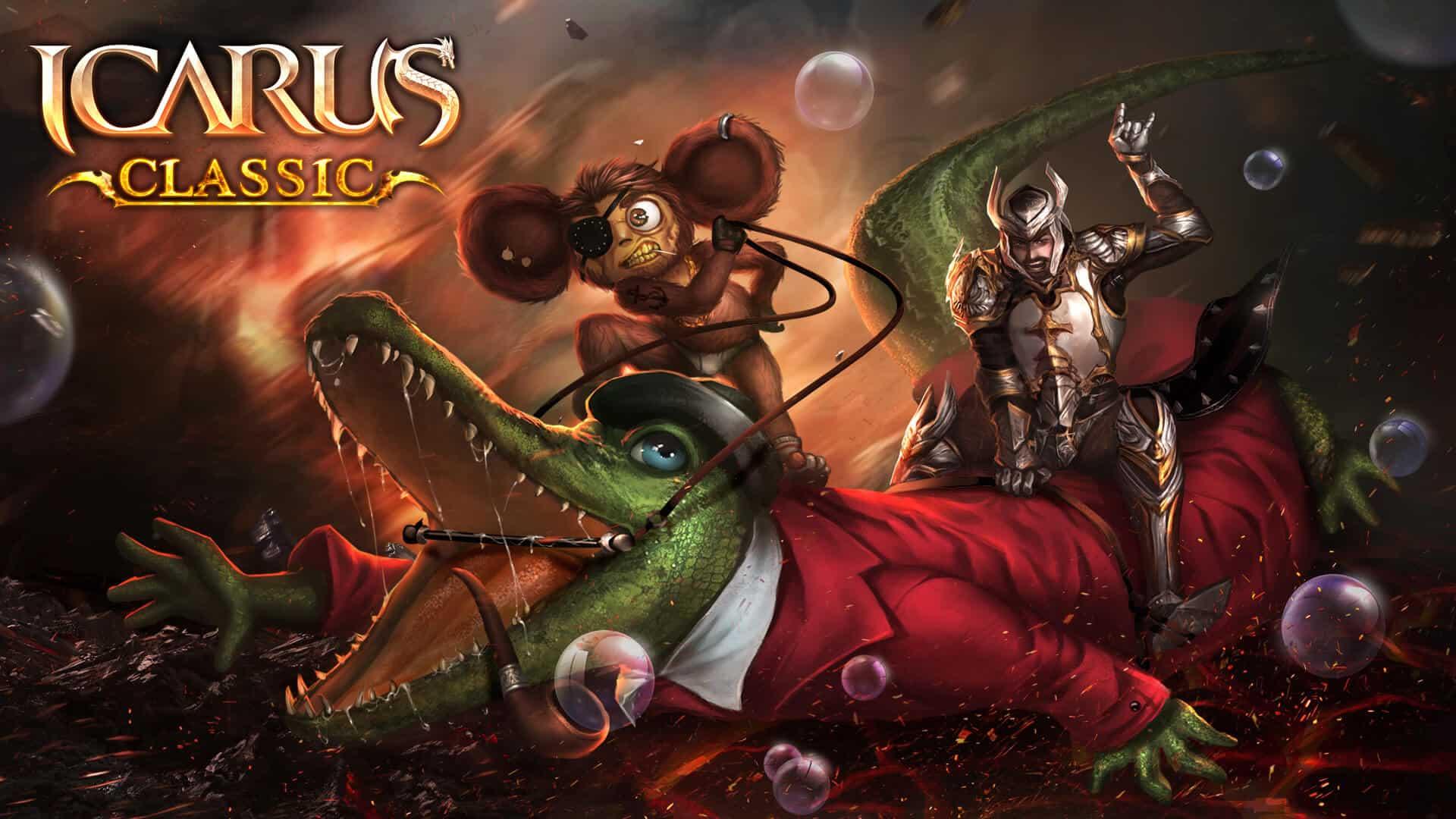 Icarus придумай имя маунту