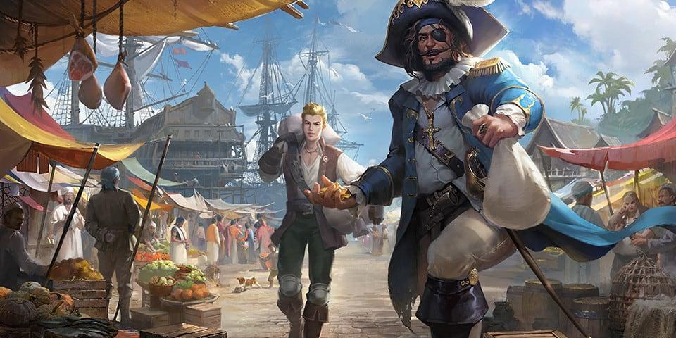 Ocean Legend и Sea of Thieves про пиратов