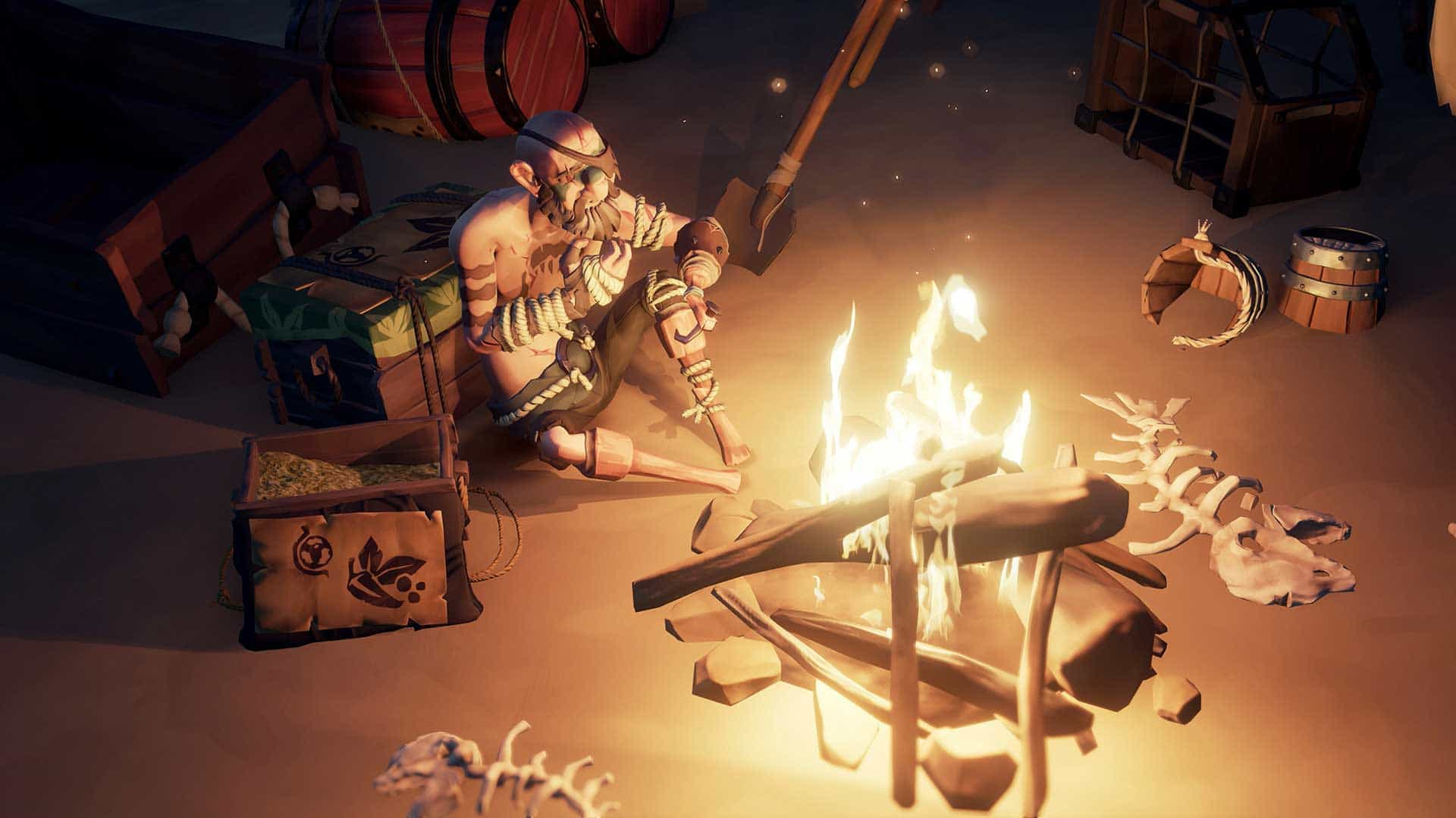 sea of thieves Hungering Deep