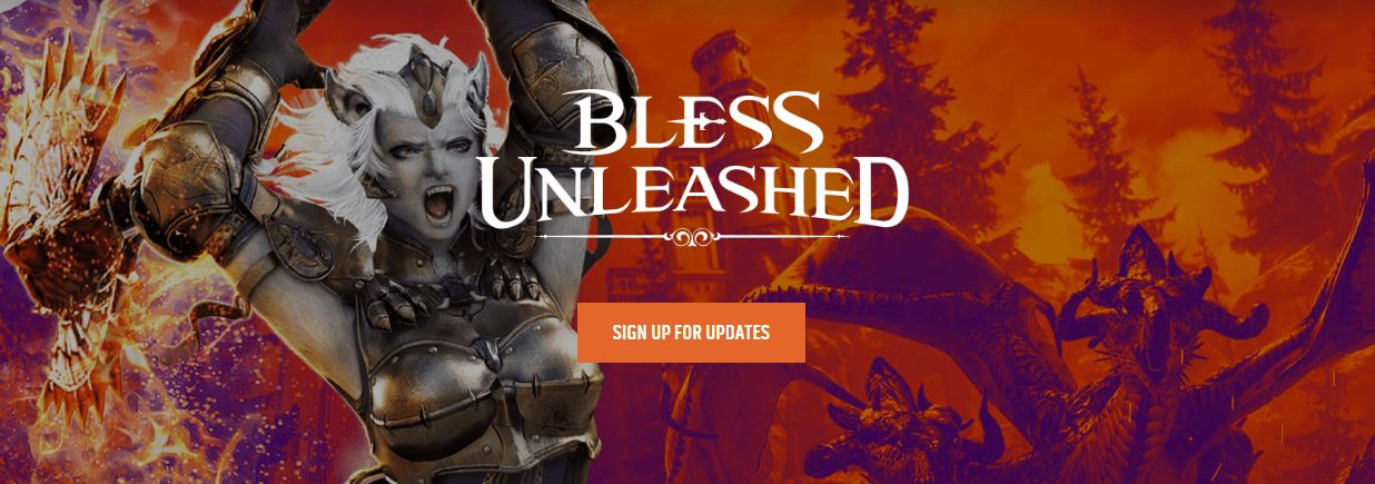 bless unleashed logo 2018