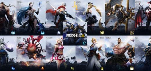 обзор героев персонажей классов lineage eternal