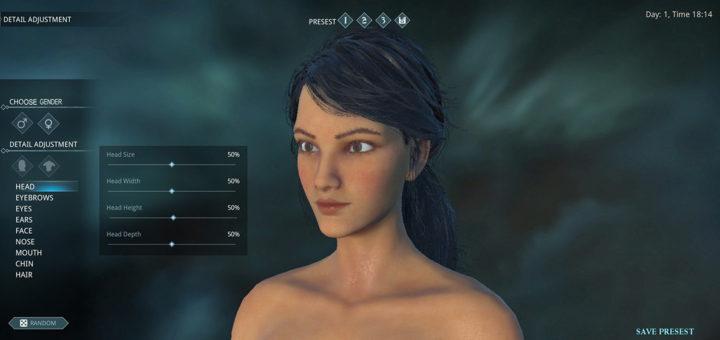 редактор персонажа dark and light