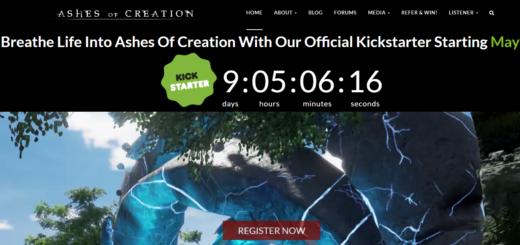 игра ashes of creation на kickstarter
