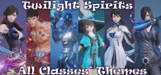 трейлер видео обзор классов Twilight Spirits