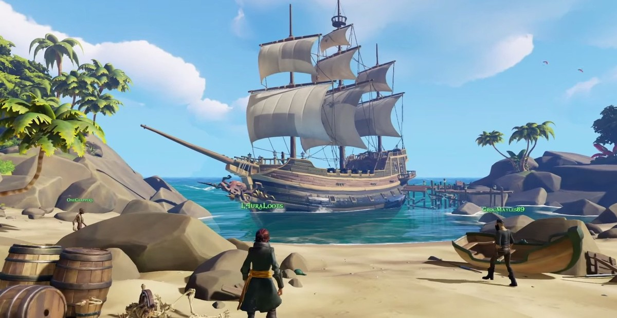 MMORPG Sea of Thieves дата збт