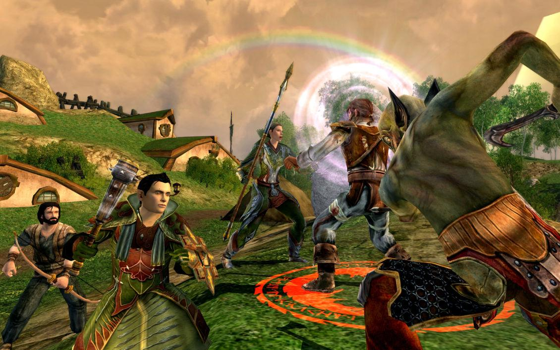 Lord of the Rings Online анонс DLC