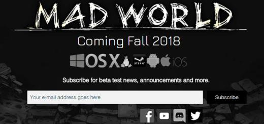 mad world mmorpg дата выхода трейлер