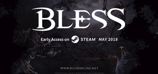 bless online ранний доступ в мае steam разовая покупка