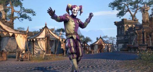 The Elder Scrolls Online фестиваль шутов