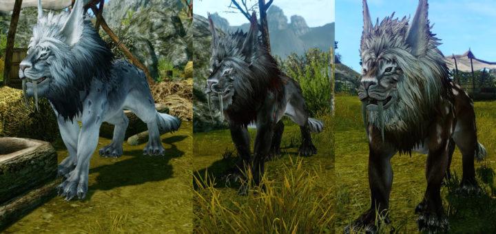 ArcheAge ездовые животные