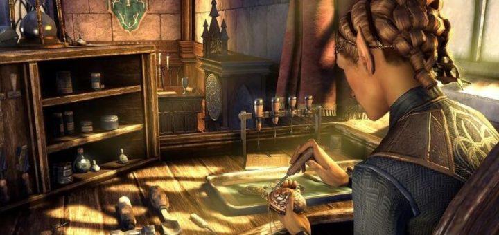 The Elder Scrolls Online ювелирное дело