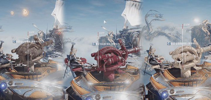 корабли и пушки в Ascent: Infinite Realm