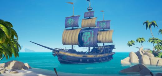 Sea of Thieves легендарный облик для корабля