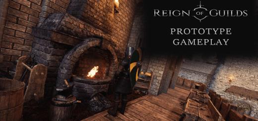 reign of guilds видео геймплей 2018