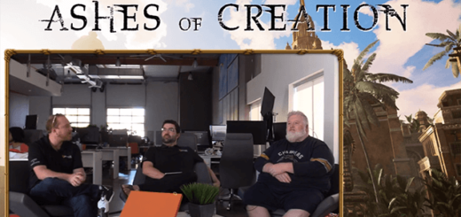 ashes of creation год после запуска kickstarter май 2018