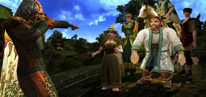 The Lord of the Rings Online летний фестиваль