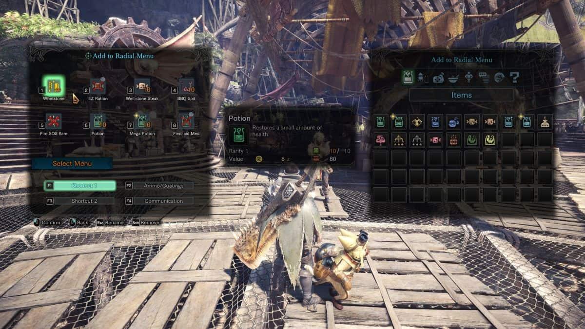 Monster Hunter World настройки