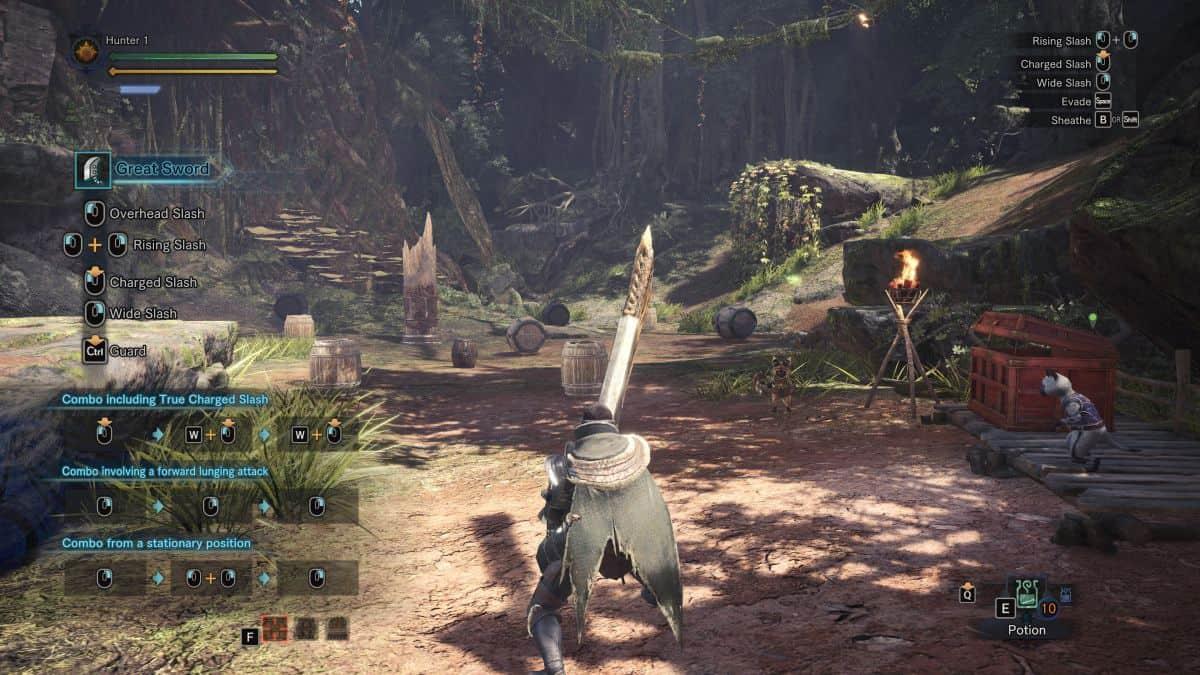 картинки из игры Monster Hunter World