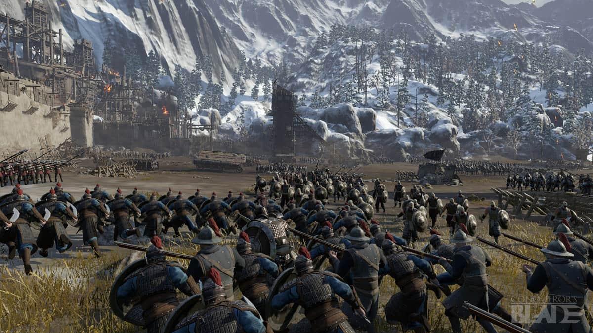 Conqueror's Blade отряды войска
