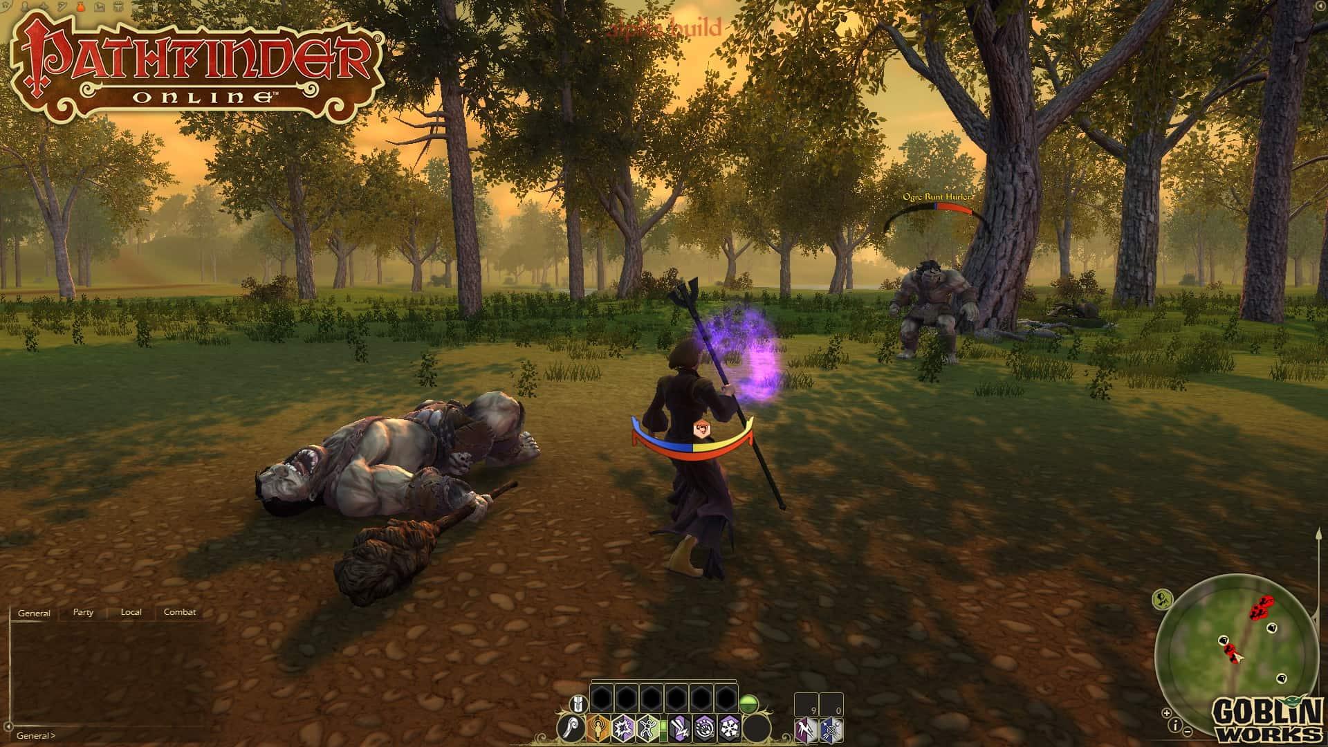 Pathfinder Online начать играть