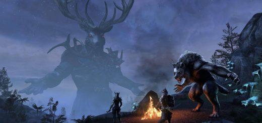 the elder scrolls online DLC wolfhunter