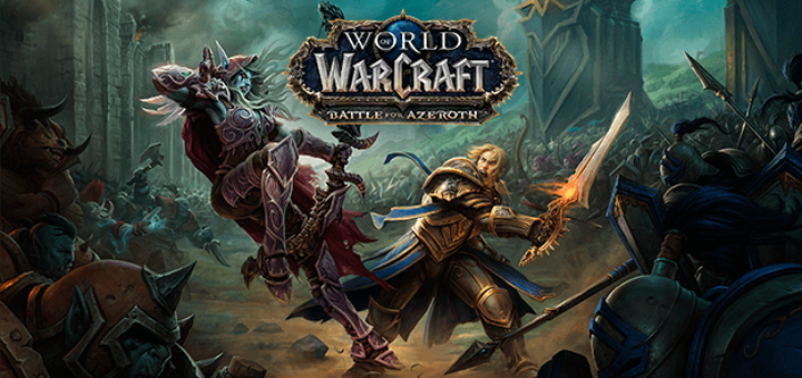 Дополнение Battle for Azeroth world of warcraft
