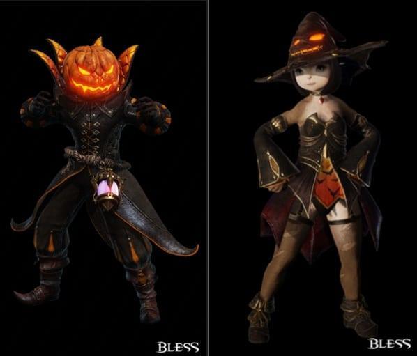 костюмы bless хэллоуин