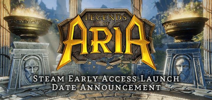 legends of aria steam ранний доступ