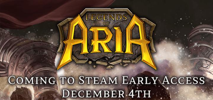 Открытый бета-уикэнд в Legends of Aria обт дата выхода ранний доступ steam