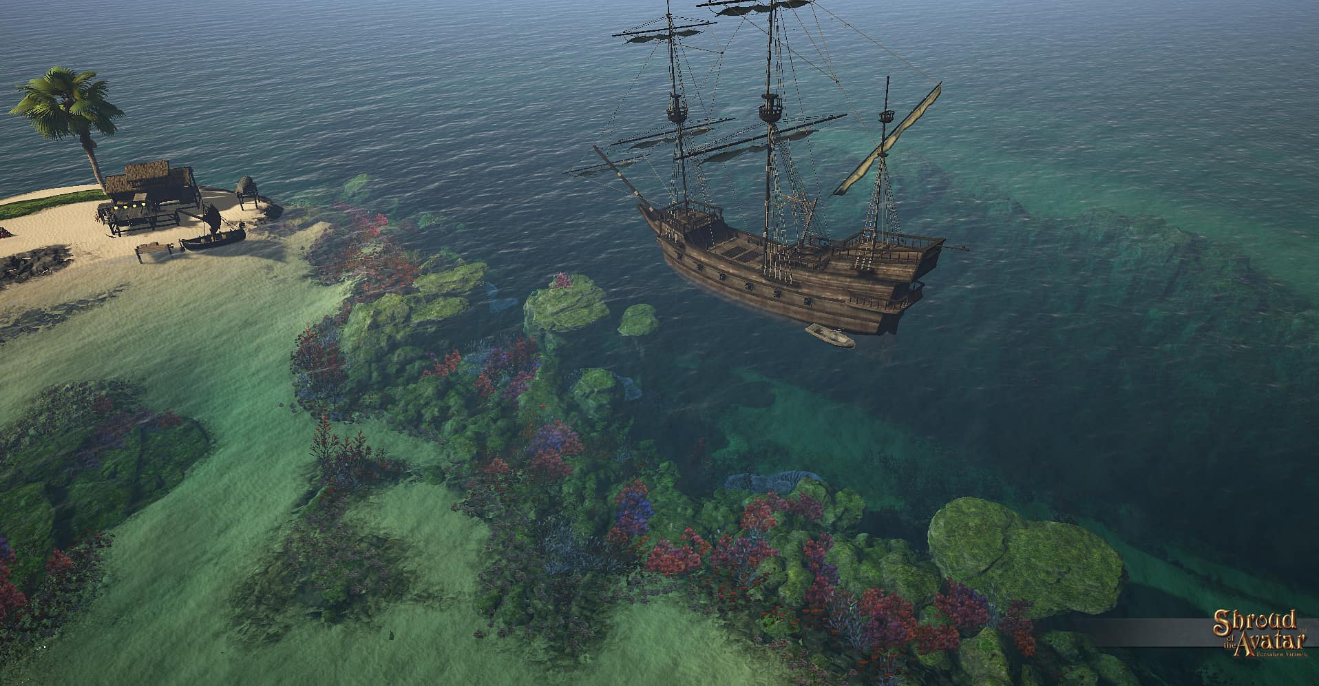 Shroud of the Avatar Рыбацкая Экспедиция