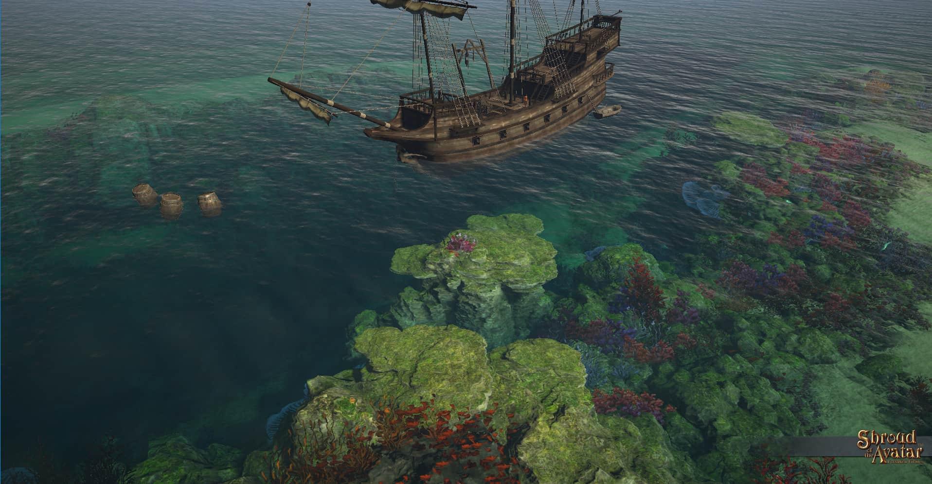 Рыбацкая Экспедиция тропический остров обновление Shroud of the Avatar