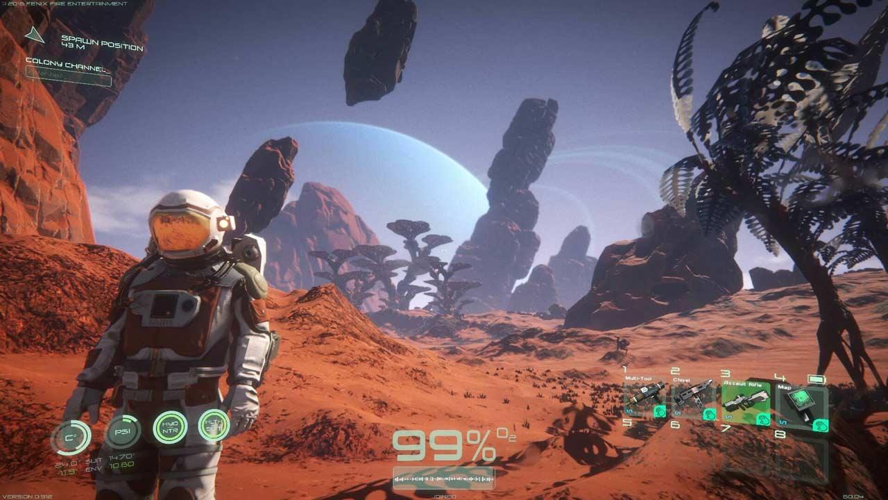 Osiris New Dawn скриншот из игры