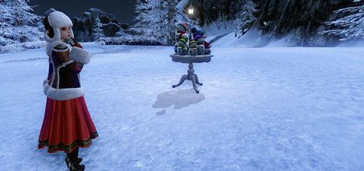 archeage снежные баталии