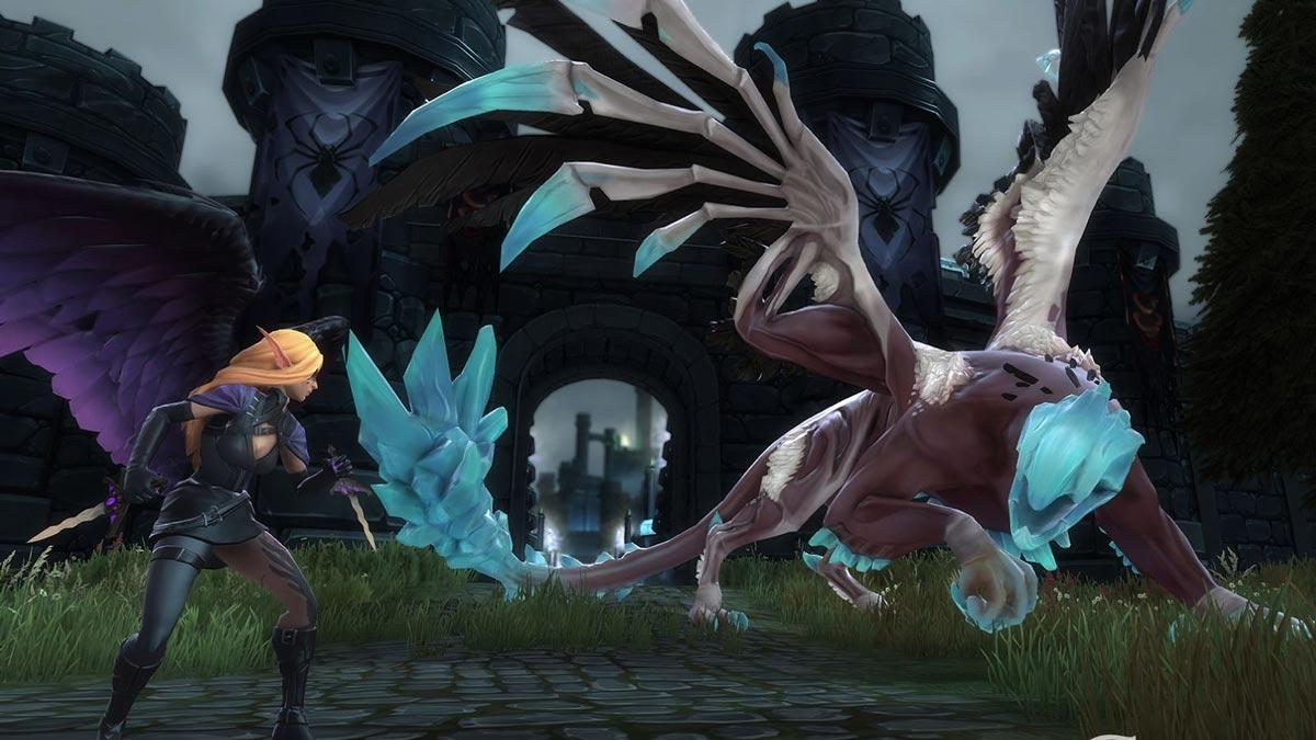 crowfall новый скриншот геймплей