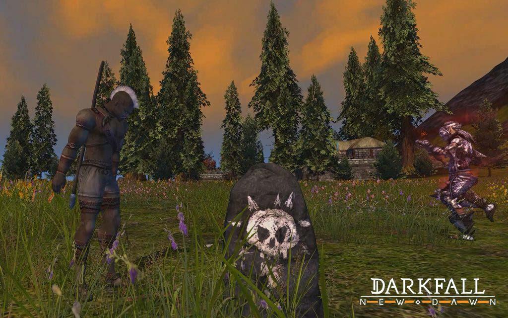 Darkfall New Dawn про выживание