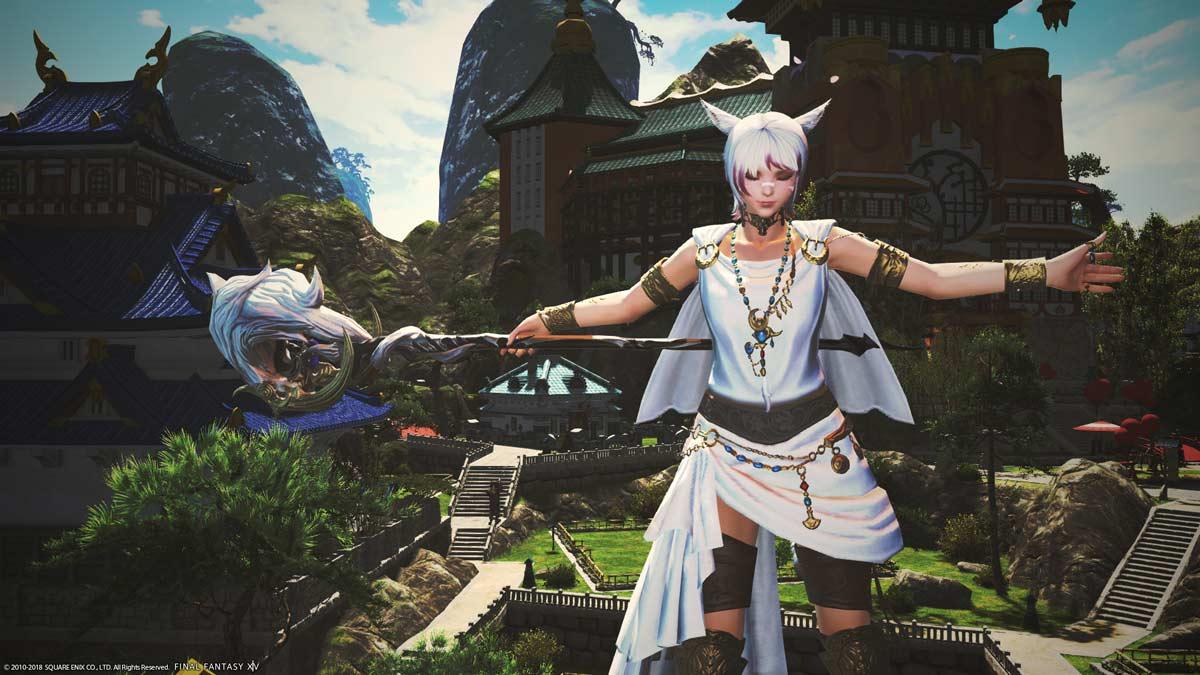 Final Fantasy XIV начать играть в steam