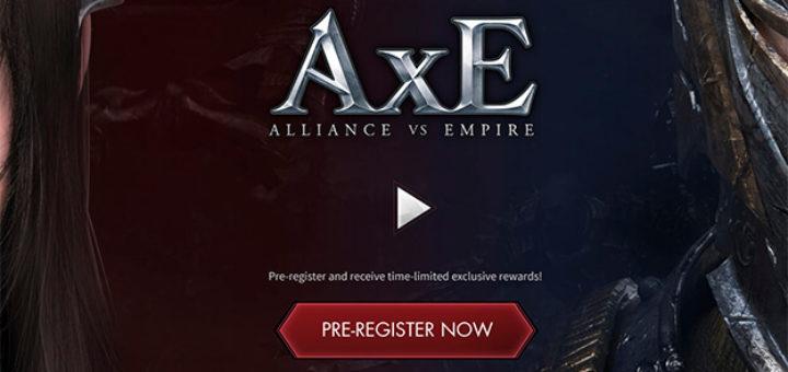 AxE (Alliance X Empire) мобильная mmorpg на русском