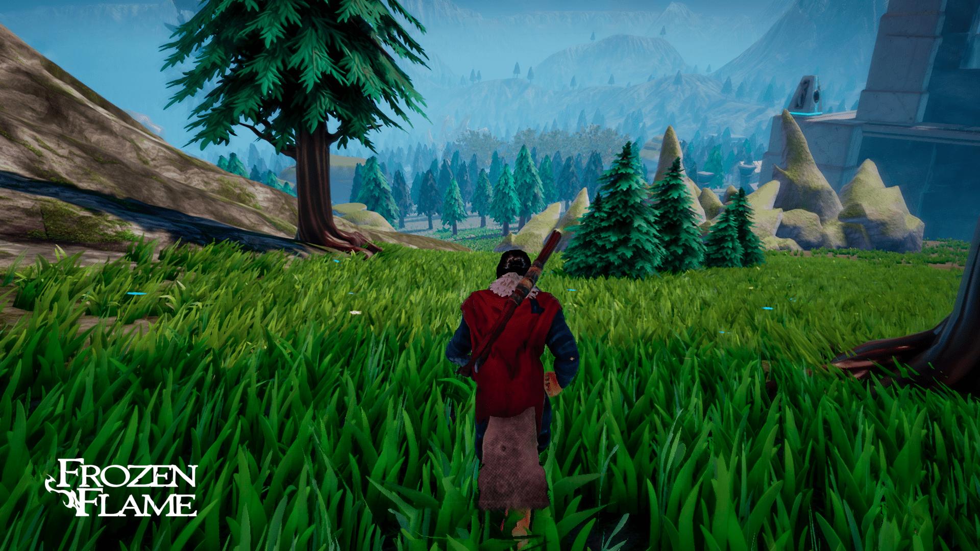 Frozen Flame скриншот