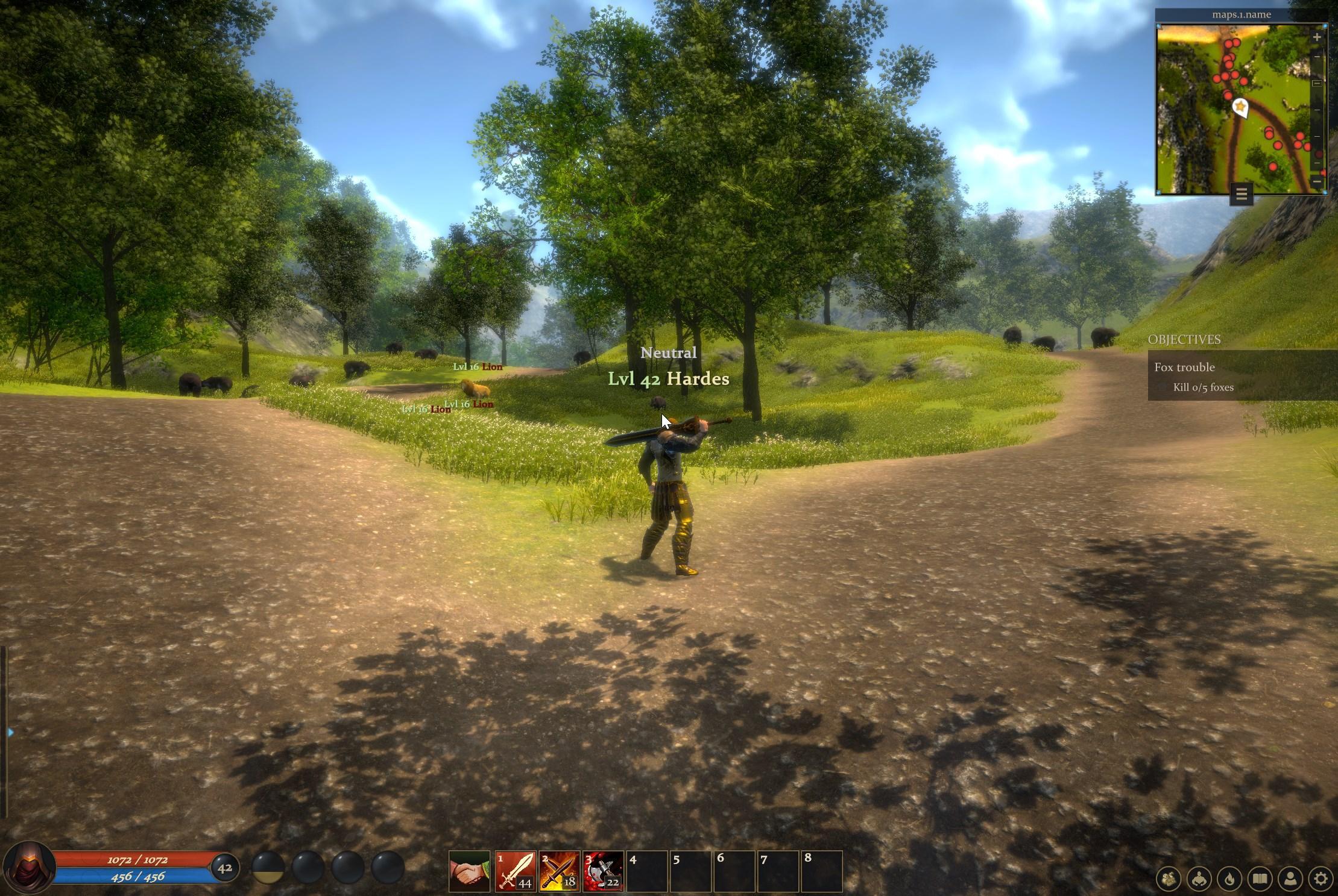 новая кроссплатформенная MMORPG inferna