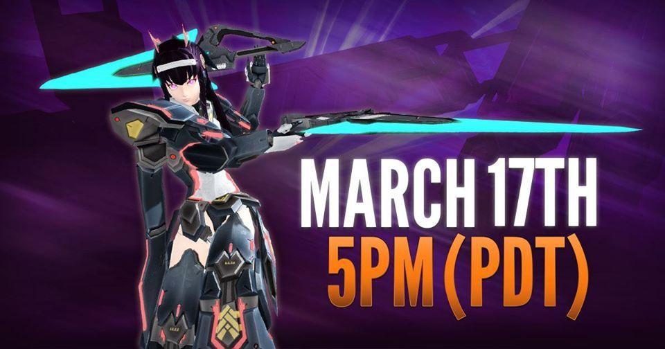 17 марта обт Phantasy Star Online 2 xbox one