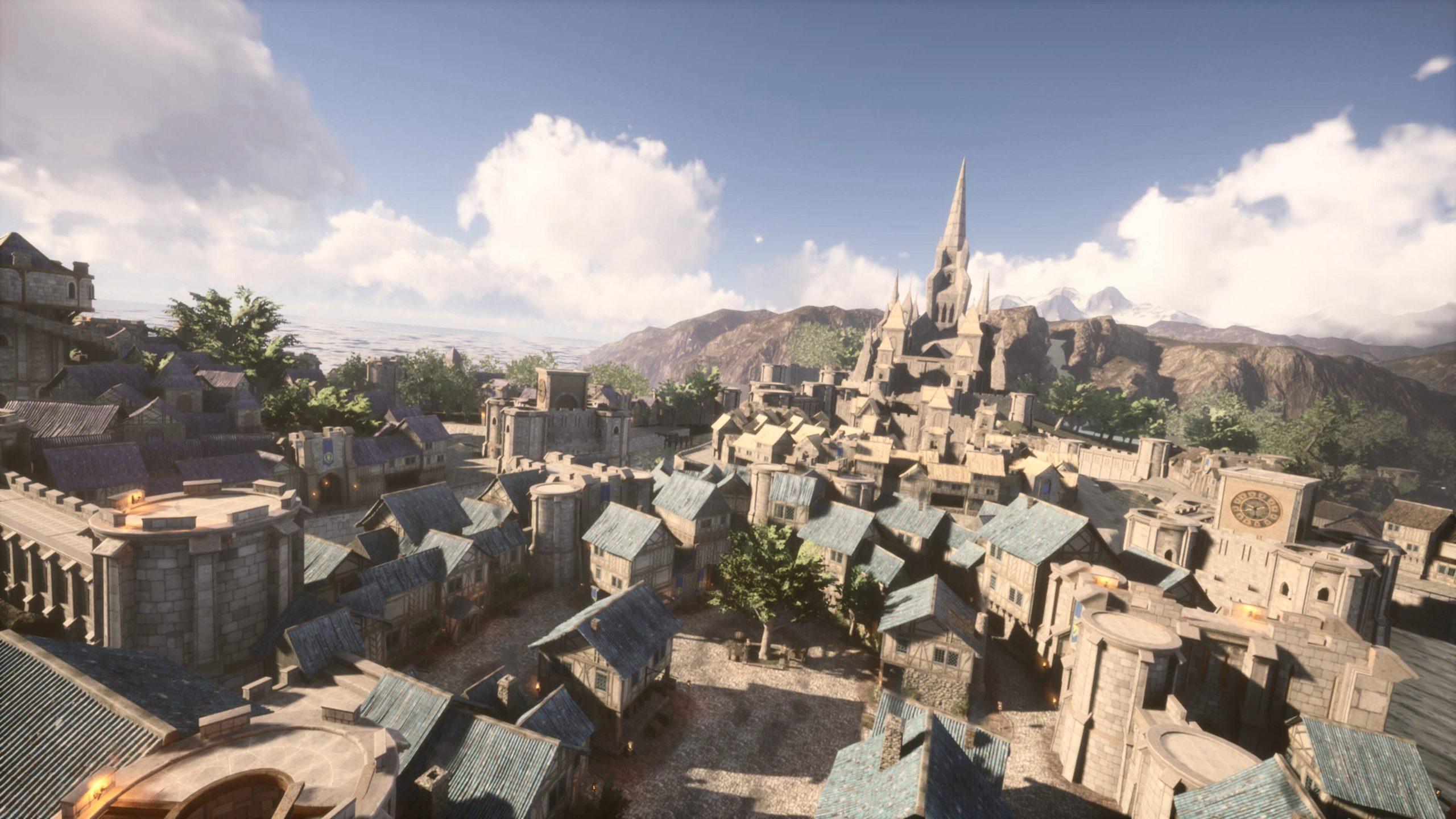 World of Warcraft на движке Unreal Engine 4