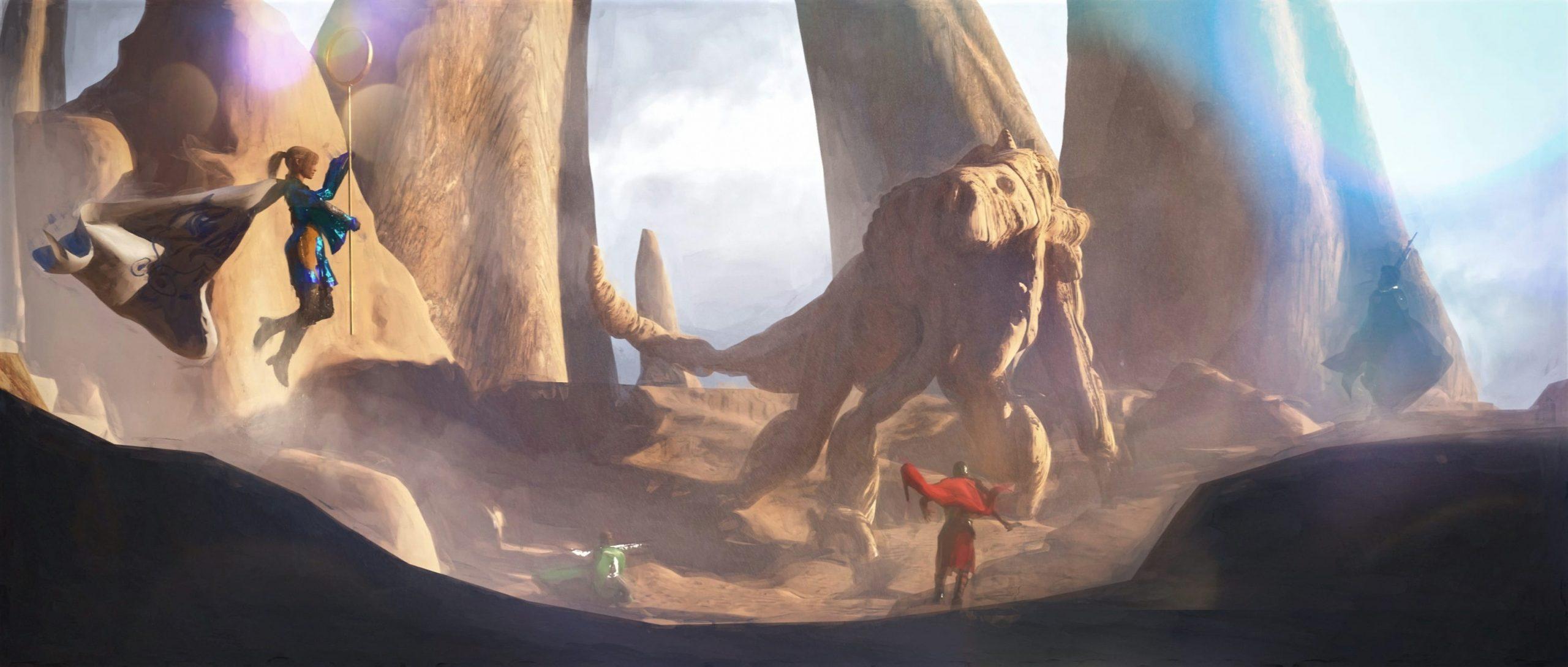 Новая MMORPG Lands of Kehliel с необычными заданиями